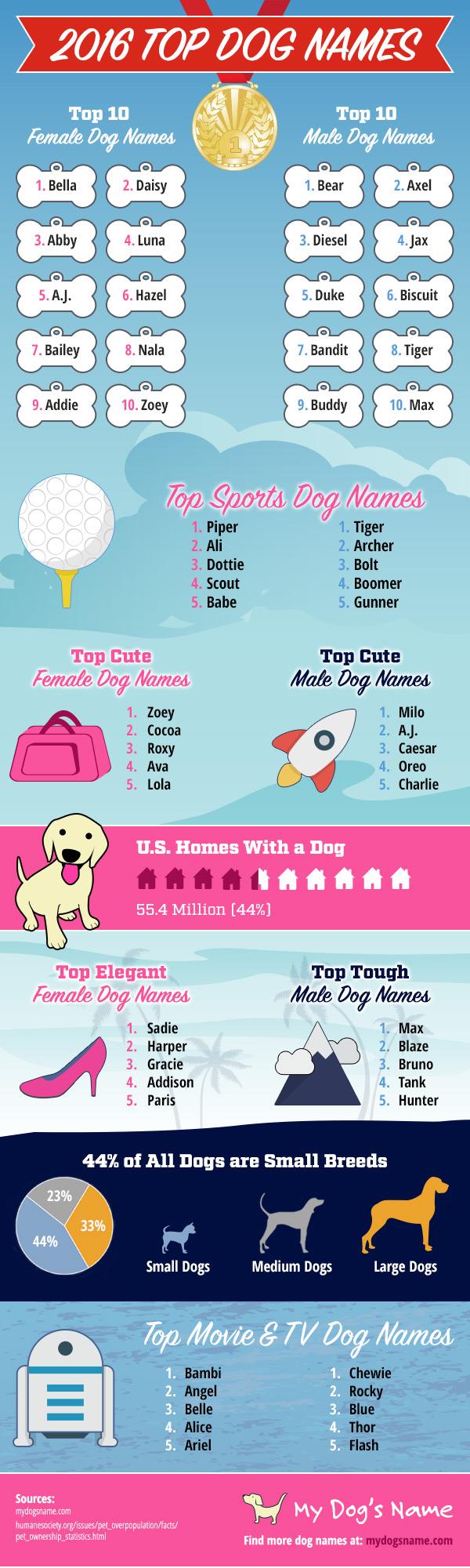 2016-dog-names