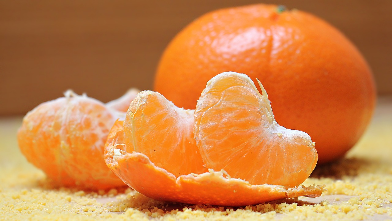 close up of people orange slice